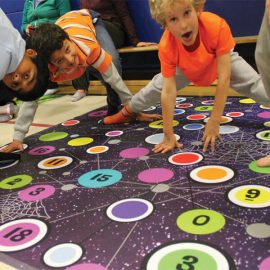 Space Spider Math Twister