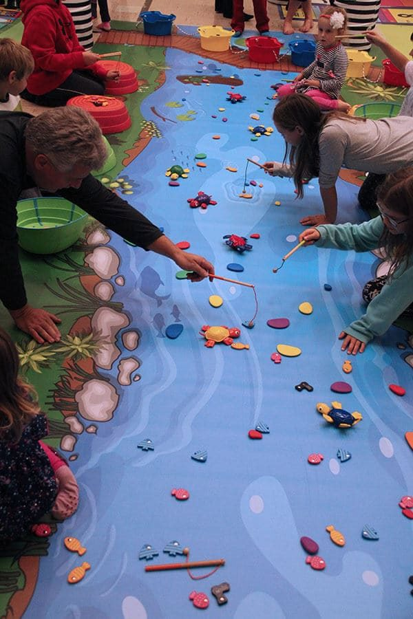 River Adventure Mat - Kindergarten-Grade 2 fun math activities