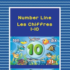Fishy Number Line 1-10 number recognition