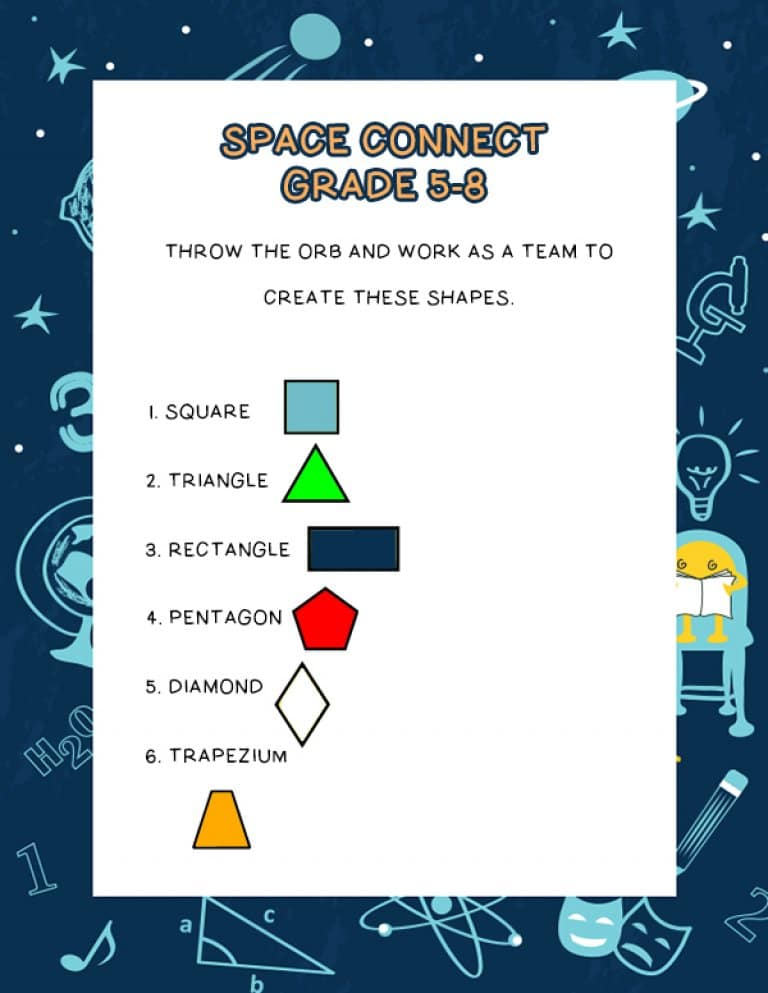 space connect shape challenge