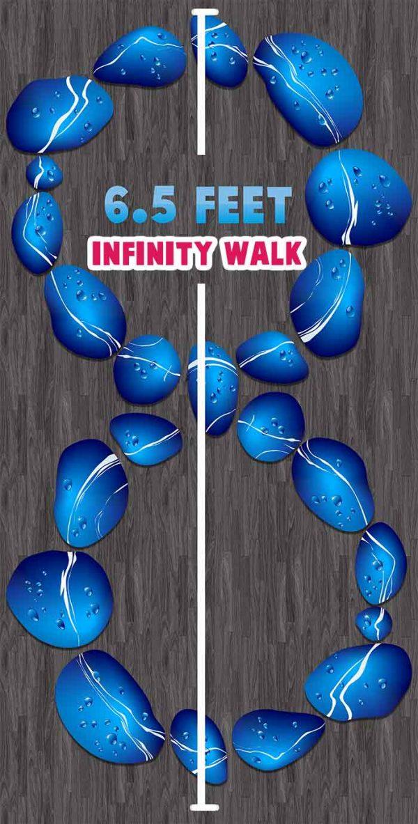 sensory-path-floor-decals-infinity walk therapy