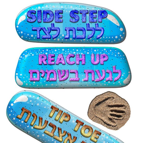 sensory path decals